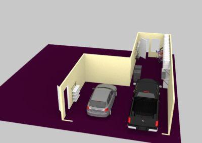 Garage Solutions | Epoxy Floor | 3D Design