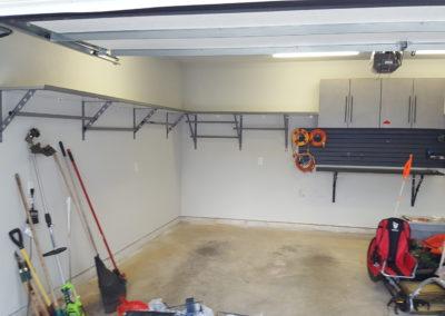 Garage Shelving | Progress 2