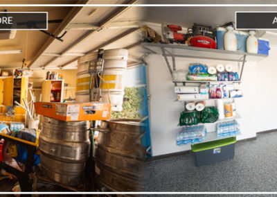 Garage Shelving Tulsa | Before and After 4