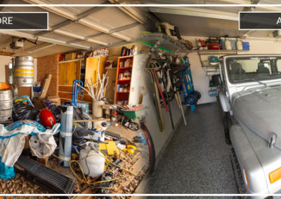 Garage organization | Before and After 2