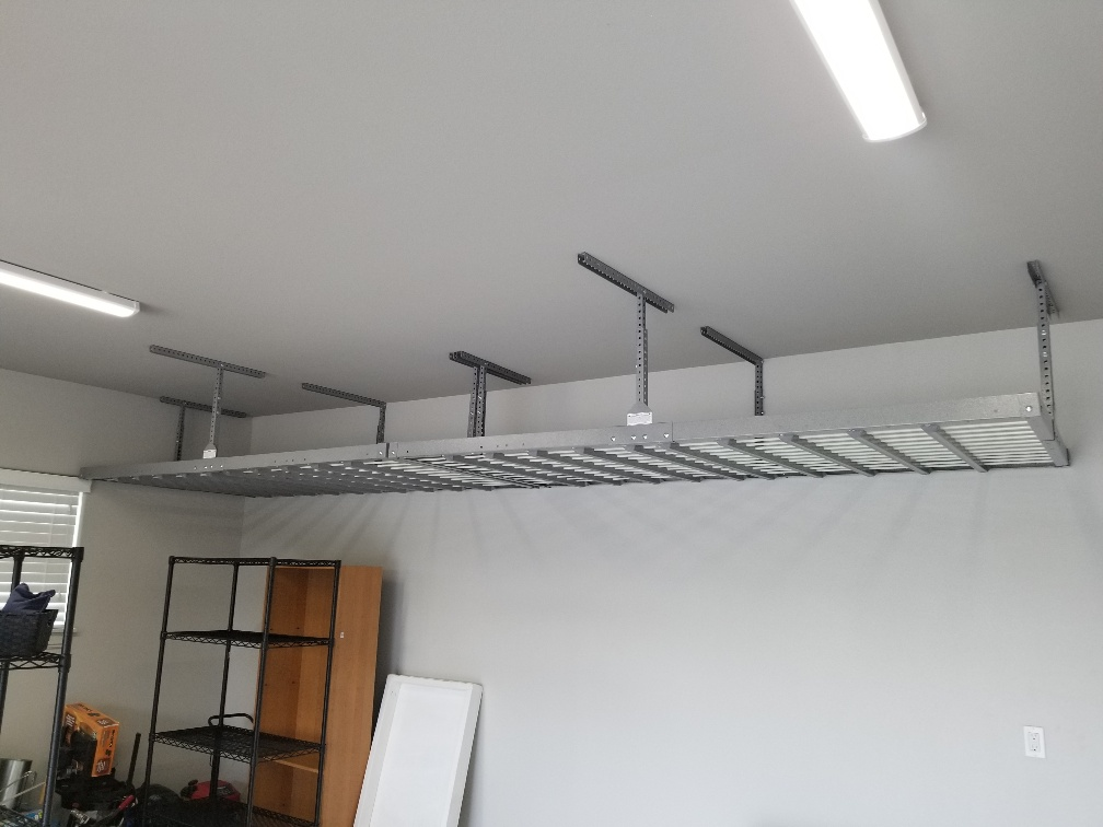 Tulsa ceiling Shelves