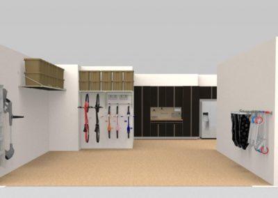 Garage Solutions | Garage Cabinets | 3 Car garage