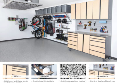 Garage Organization | Tan Stainless Design 2