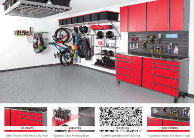 Garage Organization | Garage Solutions | Red Design 2
