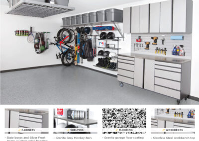 Garage Organization | Garage Solutions | Gray Design