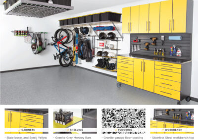 Garage Organization | Garage Solutions | Yellow Design