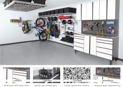 Garage Organization | Garage Solutions | White Design