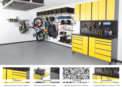 Garage Organization | Garage Solutions | Yellow Design 2