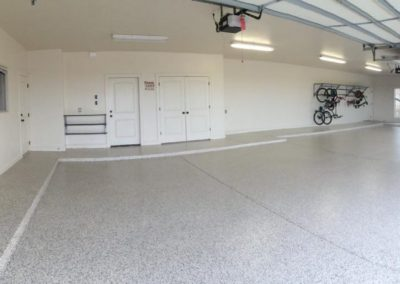 Garage Solutions | Epoxy Floor Tulsa | Garage Completed