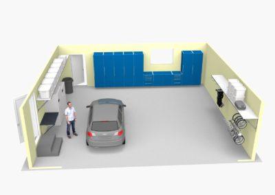 Garage Solutions | Garage Cabinets | 3D Designs