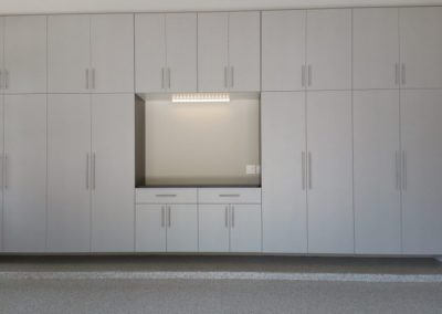 Garage Solutions | Garage Cabinets | White Wall