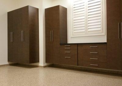 Garage Solutions | Garage Cabinets | Hardwood Wall