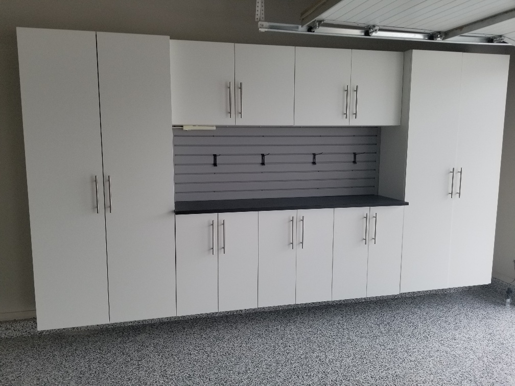 Garage Cabinets And Countertop