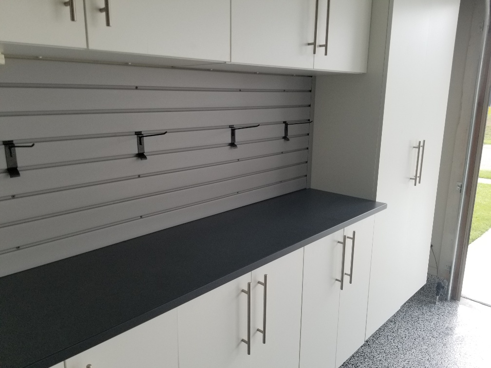 Garage Countertops And Slatwall