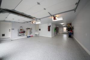 Epoxy Floor Tulsa | Beautiful Marble Flake After 2