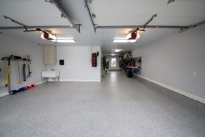 Epoxy Floor Tulsa   Beautiful Marble Flake After