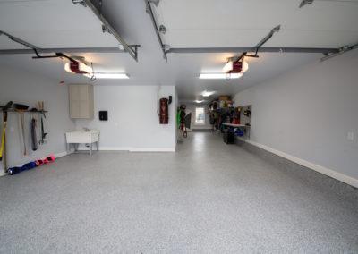 Epoxy Floor Tulsa | Beautiful Marble Flake After