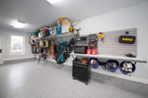 Garage Organization Tulsa   Slatwall