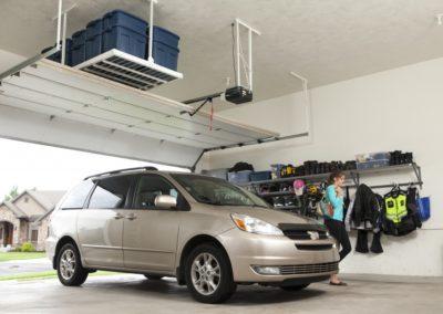 Garage Solutions | Ceiling Rack | Overhead Storage