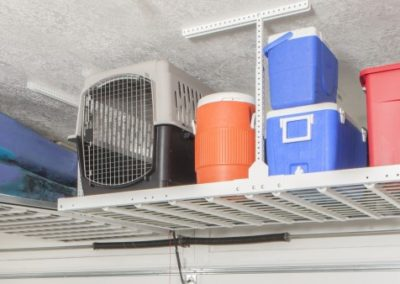 Garage Solutions | Ceiling Rack | Overhead Storage Installed