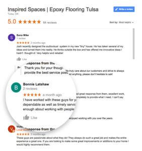 Epoxy Floor Tulsa | 5 Star Reviews