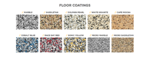 Epoxy Garage Floor | Colors