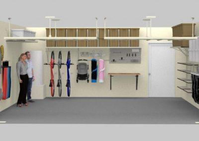 Garage Shelving Tulsa | 3D design 5