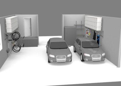 Garage Shelving Tulsa | 3D Design 2