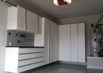 Garage Solutions | Garage Cabinets | White Silver