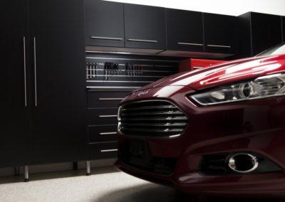 Garage Solutions | Garage Cabinets | Black Cabinets