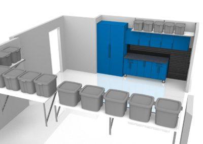 Garage Solutions | Garage Cabinets | Cobalt Blue