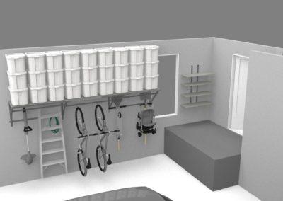 Garage Shelving Tulsa | 3D Design