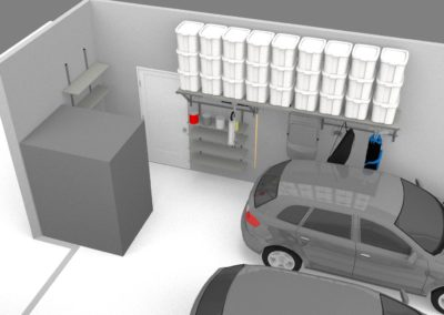 Garage Cabinets Tulsa | 3D Design 4
