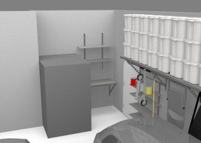 Garage Cabinets Tulsa | 3D Design 2